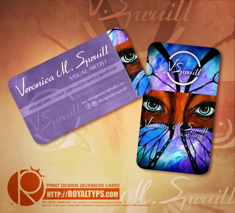 Visual Artist Business Cards   Arts - Arts